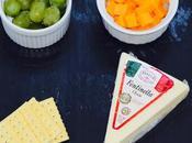 Create Christmas Cheese Grape Tray