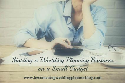8 tips for starting a wedding planning business on a small