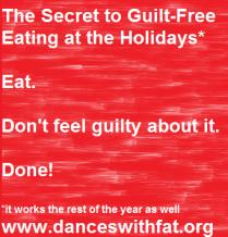 Guilt Free Eating