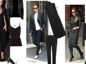 Look Victoria Beckham Black Everything