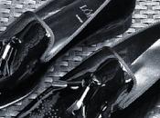 Savvy Slide Into Black Tie: LóLú Patent Tassel Loafers