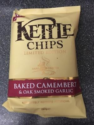 Today's Review: Kettle Chips Baked Camembert & Oak Smoked Garlic