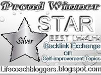 BEST Link4Link - Backlink Exchange on Self-Improvement Topics - Silver Badge