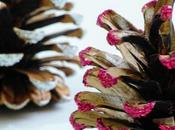 Christmas Crafts Glitter Pine Cones Tutorial