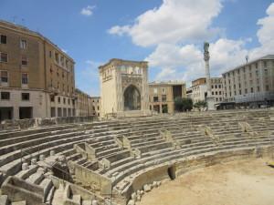 Passeggiando per il centro di Lecce. Walking in Lecce down town
