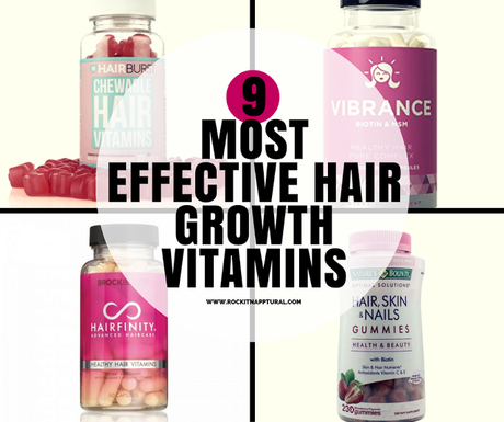 9 Best Hair Growth Vitamins For Natural Hair Paperblog