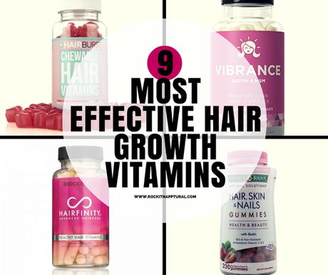 9 Best Hair Growth Vitamins for Natural Hair - Paperblog