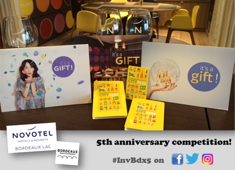#InvBdx5: win two nights B&B at Novotel Bordeaux Lac + two CityPass tickets to the city!