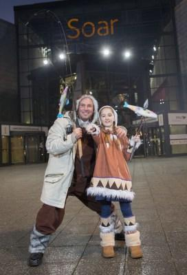Kids activities for Christmas at intu Braehead