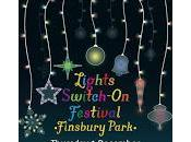 Christmas Lights Switch Fonthill Road, Finsbury Park Thursday December