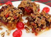 Jewelled Fruitcake Bars #ChristmasCookies