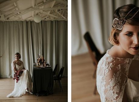 Charleston Charm. Modern Luxe 1920's Inspired Wedding Inspiration