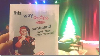Review: This Way Outta Santaland (Theater Wit)