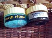 Earth Ritual Peppermint Bath Salts Coffee Brown Sugar Body Scrub Review