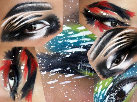 Graphic Eye Makeup No. 1