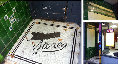 Ideas about a tiled doorway at 265 caledonian road n1 for Azeri cuisine caledonian road