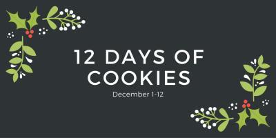 Chestnut Praline Latte Cookies #ChristmasCookies