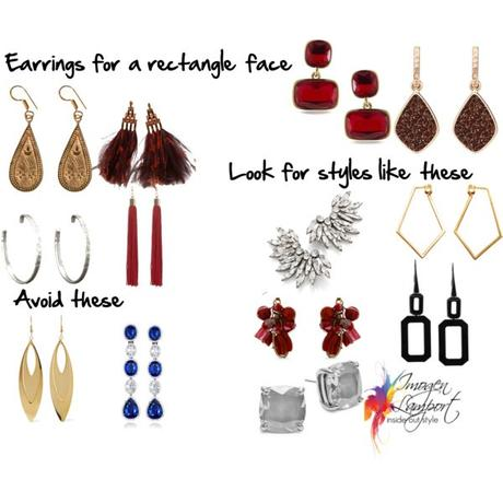 How to Choose Earrings for Your Rectangular Shaped Face ...