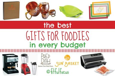The Best Gifts For Foodies In Every Budget