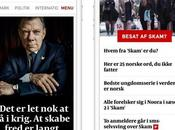 Denmark: Great Redesign Mobile, Website Politiken