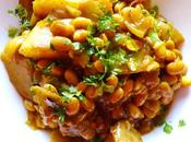 Soya Bean Potato Curry Recipe