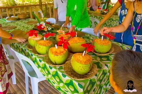 Buko Juice served at Bojo River in Aloguinsan Cebu | Blushing Geek