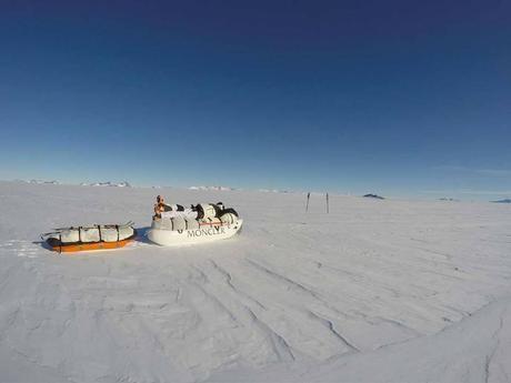Antarctica 2016: Mike Horn Begins Antarctic Crossing