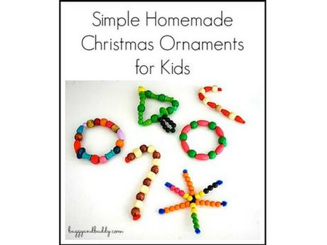 51 easy and cheap diy christmas crafts for kids paperblog for Cheap diy christmas crafts