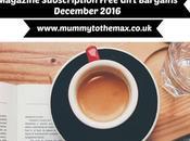 Magazine Subscription Free Gift Bargains December 2016