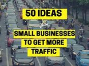 Small Business' 50-Point Guide More Traffic