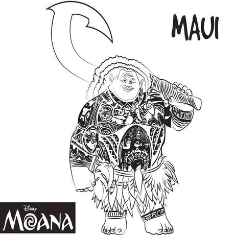 Free Colouring Pages Moana : Top 10 moana coloring pages free printables paperblog
