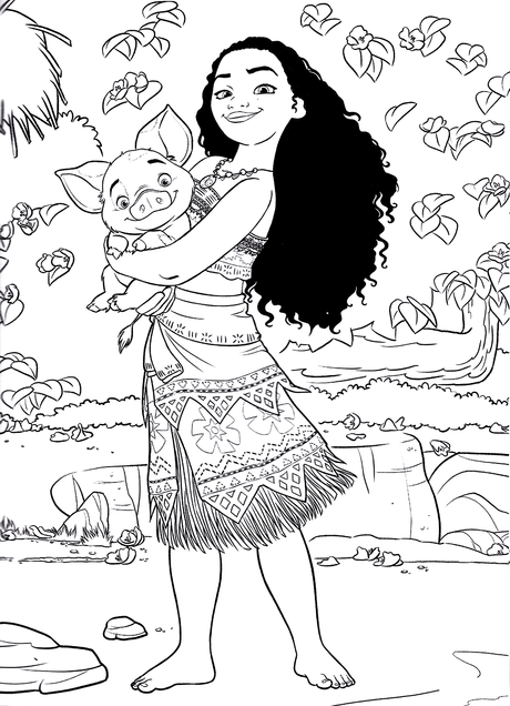 Tamatoa Moana Coloring Pages Coloring