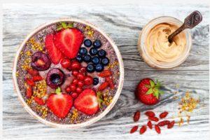 paleo smoothie bowl image