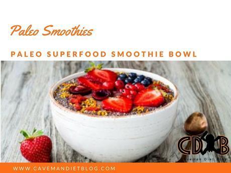 paleo smoothie bowl main image