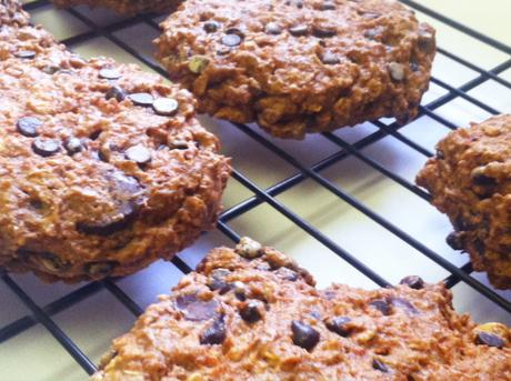 ... Cookies | Oatmeal Chocolate Chip Carrot Cake Breakfast Cookies (Day