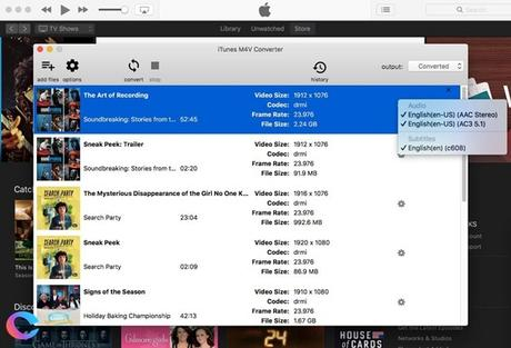 5 Step Process to Remove DRM from iTunes M4V Videos