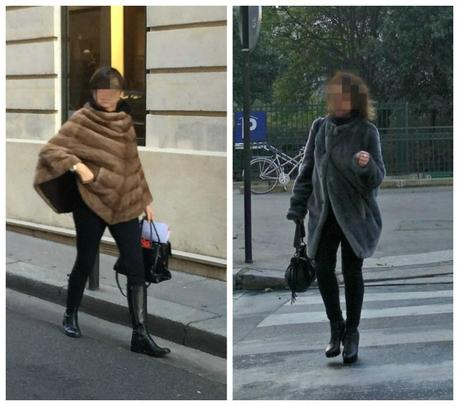 fur and faux fur toppers in Paris