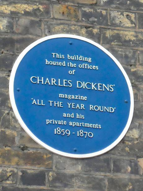 #plaque366 Charles Dickens in Covent Garden