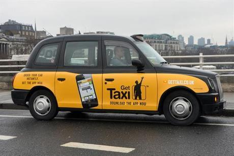 Gett gets into London taxis. Photo courtesy