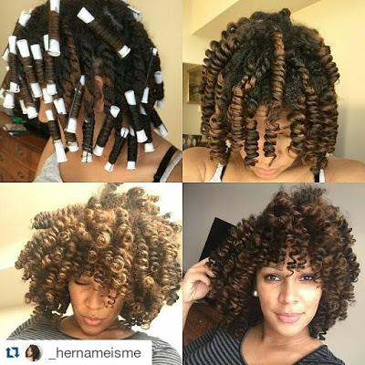 How To Get Glamorous Holiday Perm Rod Curls Paperblog