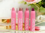 Pink Sugar Project Vanity These Lips Don't Matte Crayon Review Swatches