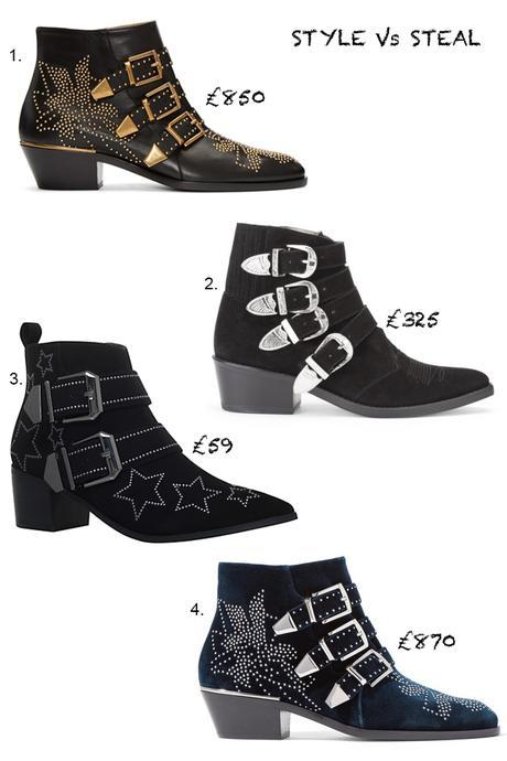 STYLE Vs STEAL | THE ANKLE BUCKLE BOOT