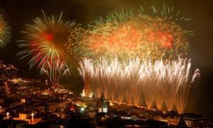 Welcome New Year Dancing On The Tunes Of Lisbon, Portugal