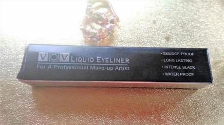 VOV Waterproof Liquid Eyeliner Review