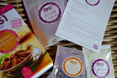 Review: Desi Indian Meal Kits