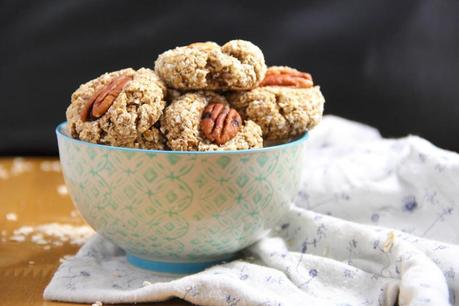 Vegan Banana & Oat Breakfast Biscuits Recipe