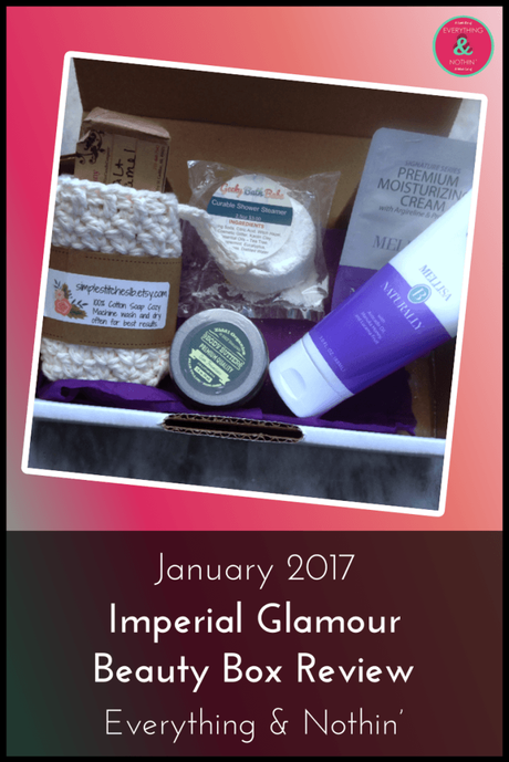 January 2017 Imperial Glamour Beauty Box Review