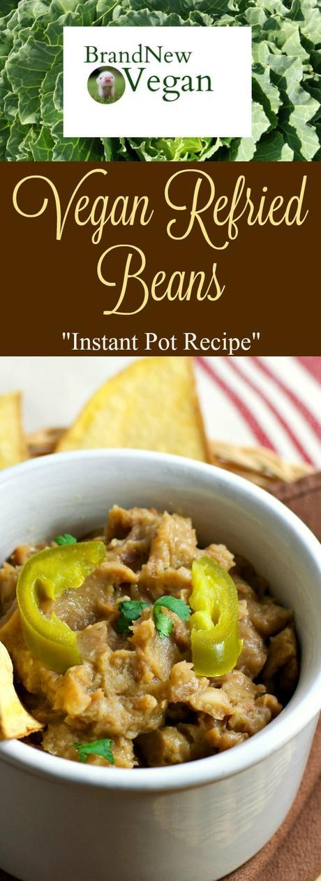 Instant Pot Vegan Refried Beans