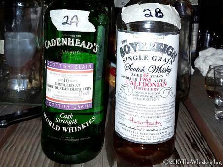 Malt Nuts - Grain Whisky Tasting 2