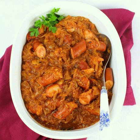 Slow Cooker Croatian Szekely Goulash